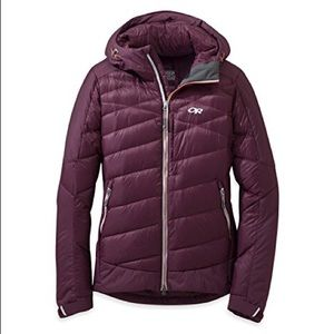Outdoor Research Diode Down Hooded Jacket Pinot
